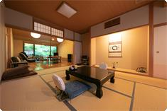 Tsubakikan has a living room, Japanese-style room, and hot spring in the room.