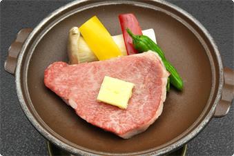 福井県のブランドのステーキです