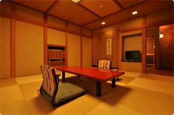 【露天風呂付】紫苑 主室