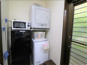 洗濯機と乾燥機を完備しております