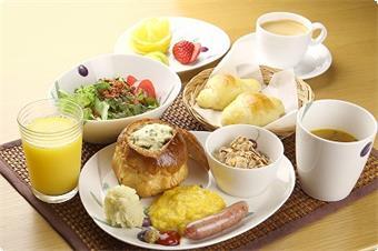 朝食はバランスよくね♪