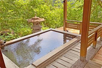 露天風呂付き特別室『松島』・客室露天風呂