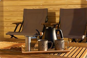 スノーピークギアでコーヒー