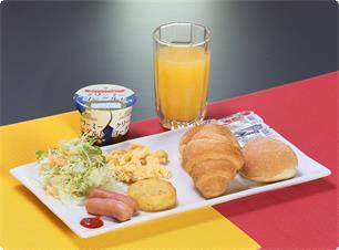 Mix Breads Breakfast(If you reserved the plan not include sinner and breakfast,it costs 500 yen to add breakfast)