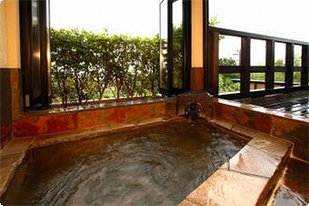 紅梅の専用風呂