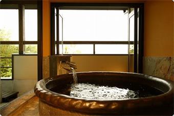 山鶯の専用風呂