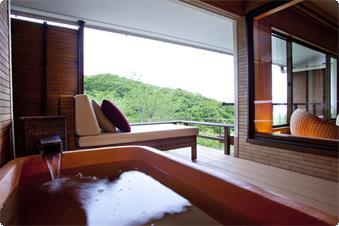 露天風呂付高風院