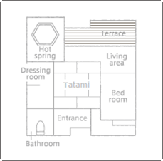 家具や形状はお部屋ごとに多少異なります。