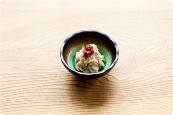 一汁四菜の現代湯治食 一品例