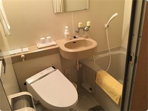 1~3階標準客室のバスルーム