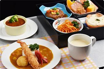 お子様定食(洋食):ビーフシチュー・コーンスープ付き