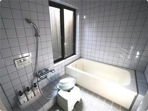 本館メゾネット ツイン/ダブル バスルーム