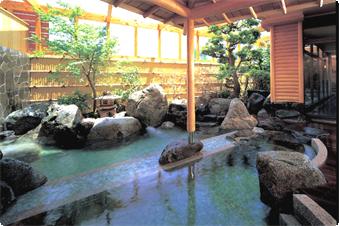 12年秋、男女ともに「炭酸風呂」、女性風呂には「アロマミストサウナ(遠赤外線)」導入。