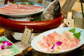 新鮮な魚介が豊富なディナーバイキング(イメージ)