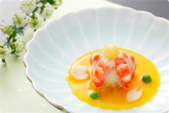 季節会席【春】料理のイメージです。