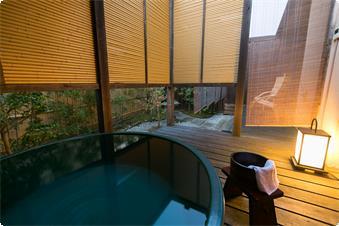 別館鹿鳴山荘【竹】露天風呂