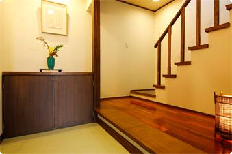 別館鹿鳴山荘【あやめ】玄関