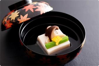 A case of seasonal Kaiseki