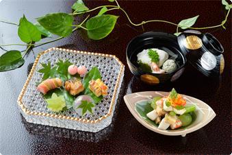 季節会席【夏】料理の一例
