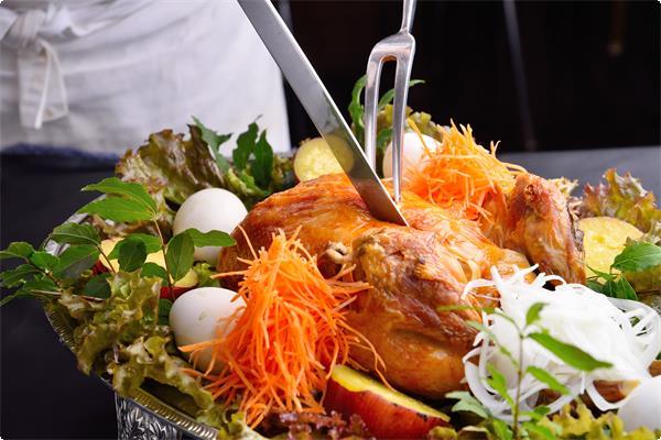 筋湯温泉名物「極楽温鶏」