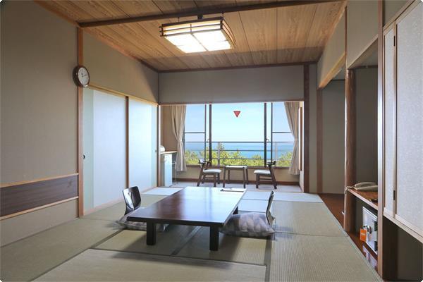 ・【4~6階海側和室一例】雄大な日本海の風景をお楽しみください