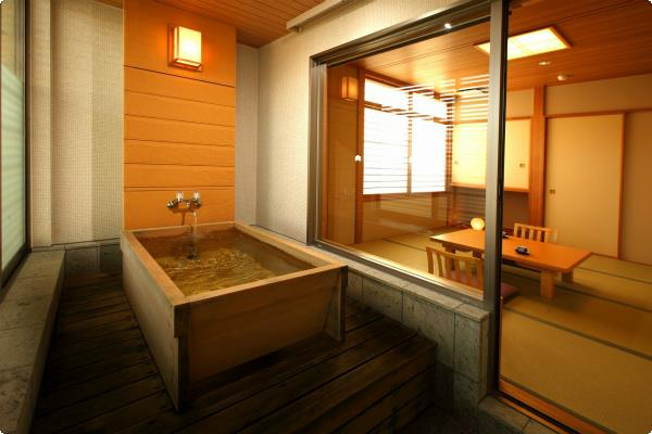 桧風呂付和室