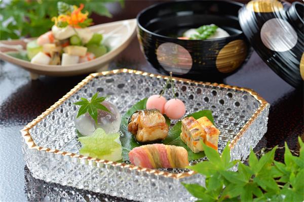 季節の会席【夏】料理の一例
