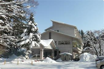 冬の水明荘