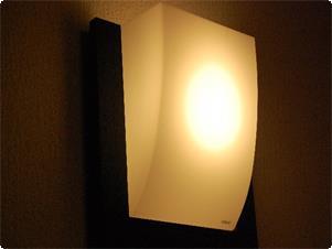 露天風呂付和洋室のライト!