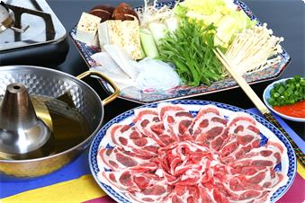 Pork shabu-shabu-All You Can Eat(We will provide on the 2nd and 5th and 8th night,if you reserve the plan include dinner and breakfast.)