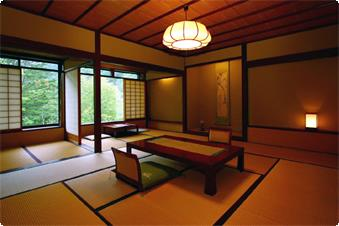 介山荘・一般客室の例