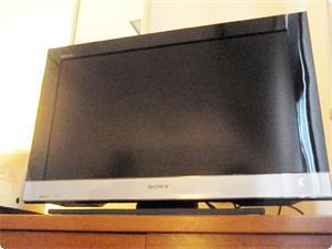 ツインルーム 28型地デジ対応ワイドTVです。
