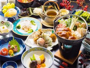 地場の食材をふんだんに使ったお料理をお楽しみください。