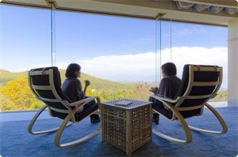 sky lounge retreatではフレーバーティーをお楽しみ頂けます。
