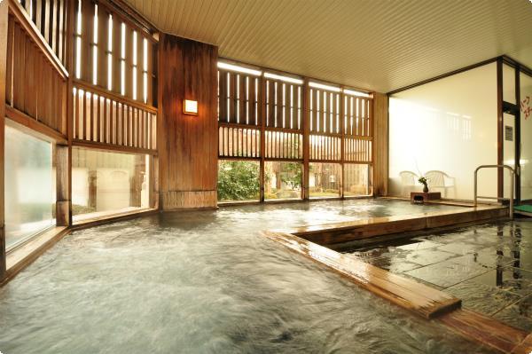 成分自慢の天然温泉(大浴場)