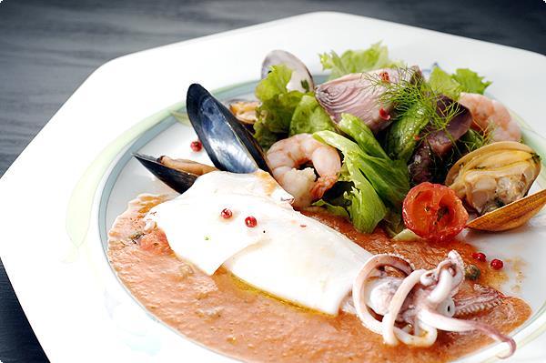 シチリア風ヤリイカの前菜