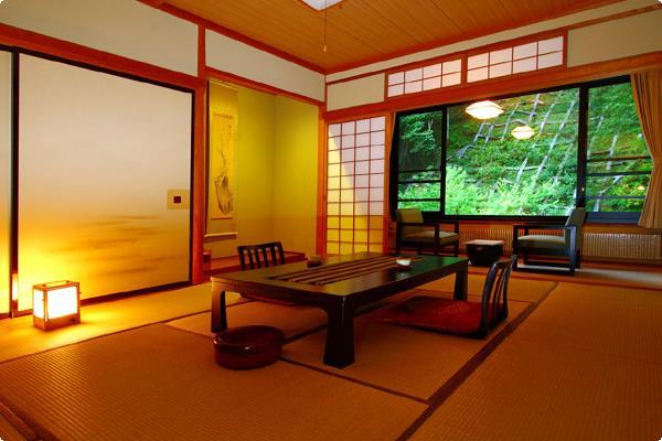 牧水荘・一般客室の一例