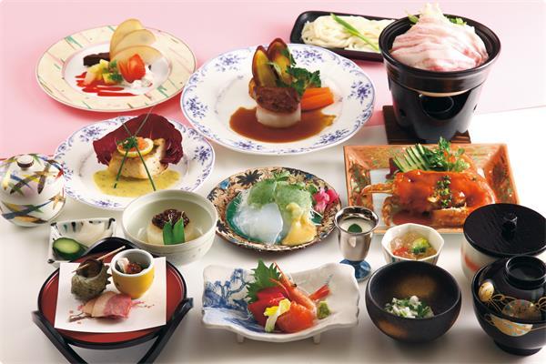 食材にこだわった特別会席(季節ごとに変わります。)